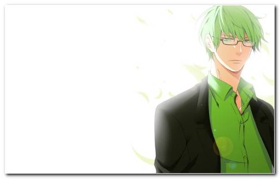 Image Manga Cool Anime Long Hair Green