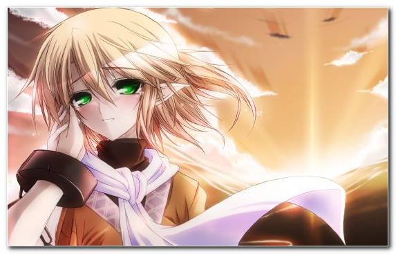 Image Manga Long Hair Purple Mangaka Blond