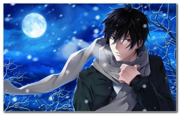 Image Mangaka Blue Black Hair Male Animation