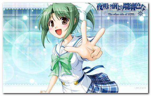 Image Mangaka Girl Cartoon Blue Happiness