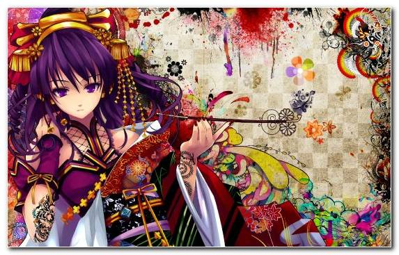 Image Mangaka Manga Geisha Purple Drawing