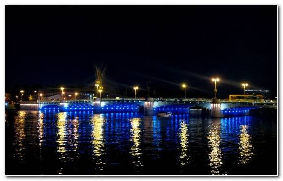 Image Marina Sea River Bridge Night