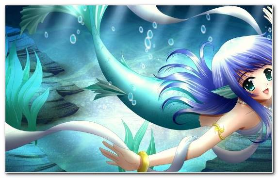 Image Marine Biology Blue Underwater Merman