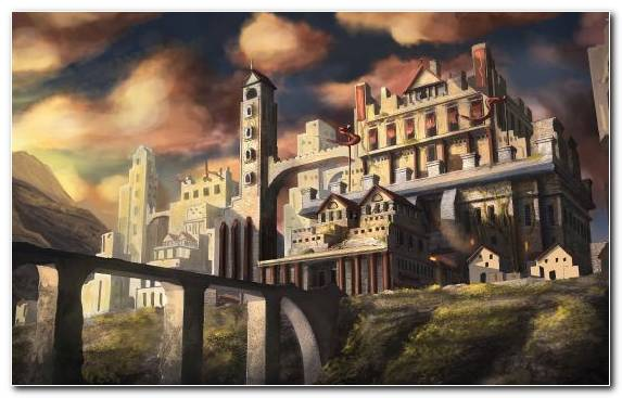 Image Medieval Architecture Capital City City Castle Mountain