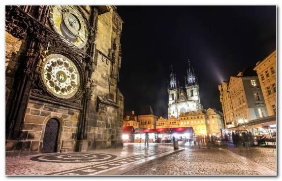 Image medieval architecture sky night metropolis travel