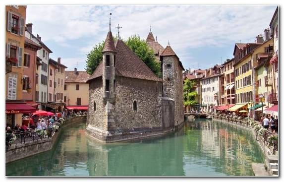 Image Medieval Architecture Tours Paris Grand Canal Watercourse