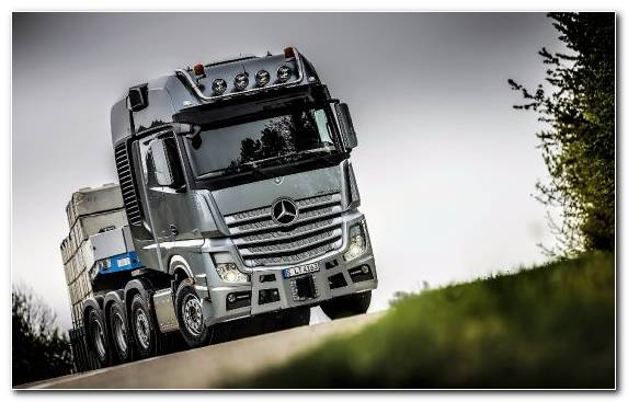Image Mercedes Benz Arocs Transport Car Automotive Tire Truck