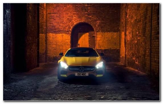 Image mercedes benz sls amg lighting mercedes benz yellow mercedes amg
