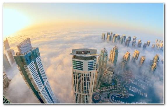 Image Metropolis Burj Khalifa Skyline Daytime Urban Area