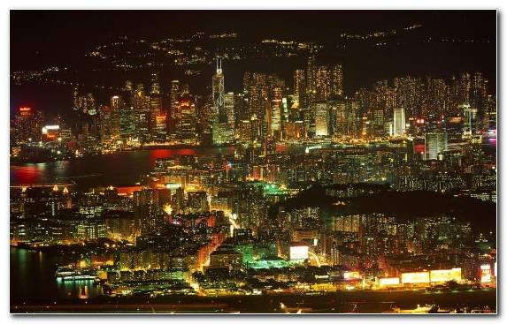 Image Metropolis Cityscape Skyline Airplane Urban Area