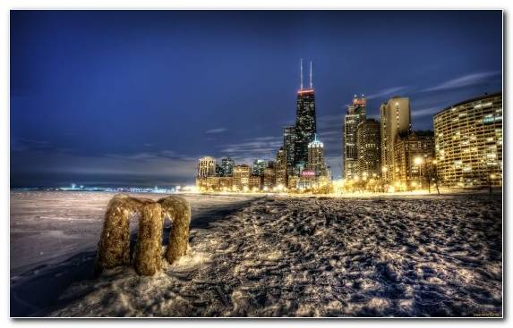 Image Metropolis Footage Chicago Cityscape Sky