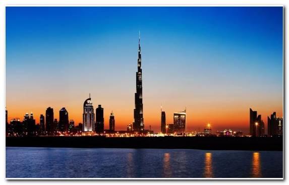 Image Metropolis Horizon Burj Khalifa Landmark Tower