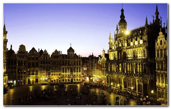 Image Metropolis Landmark Blu Ray Disc Grand Place Sky