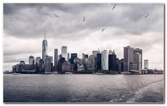 Image Metropolis New York City City Cityscape Daytime