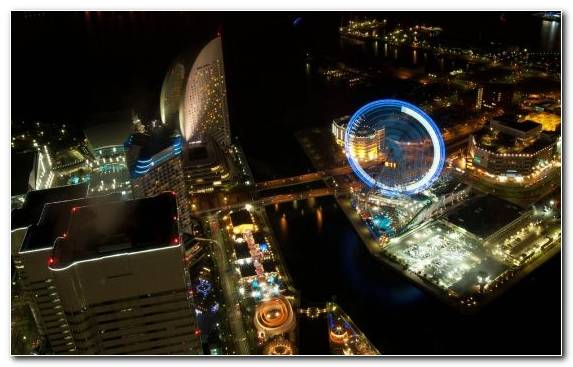 Image Metropolis Night Cityscape Reflection Tourist Attraction