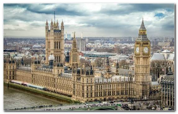 Image Metropolis River Thames Urban Area Big Ben Palace Of Westminster