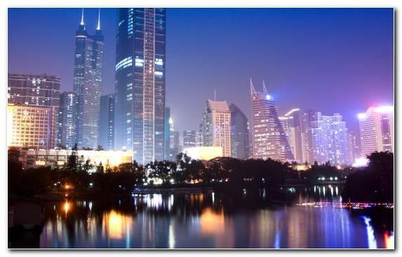 Image Metropolis Skyline Cityscape Skyscraper Hong Kong