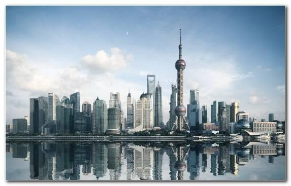 Image Metropolis Urban Area Landmark Shanghai Tower Daytime
