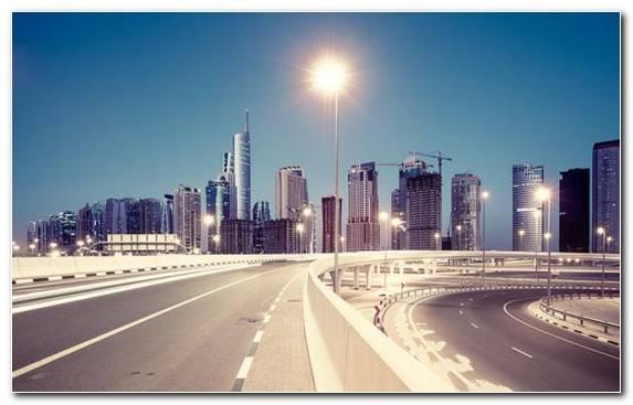 Image Metropolis Urban Area Skyscraper Dubai Sky