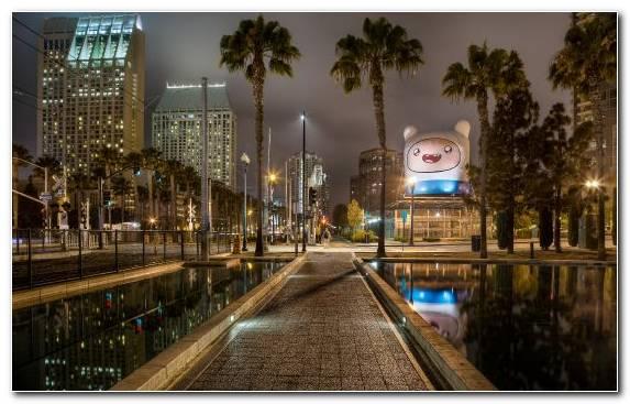 Image Metropolis Waterway Cityscape San Diego Urban Area