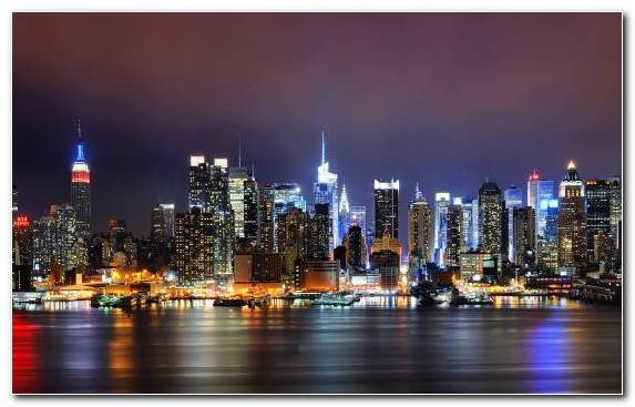 Image Metropolitan Area New York University Night Metropolis Information