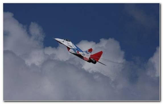 Image Mikoyan Mig 29 Aircraft Monoplane Cloud General Aviation