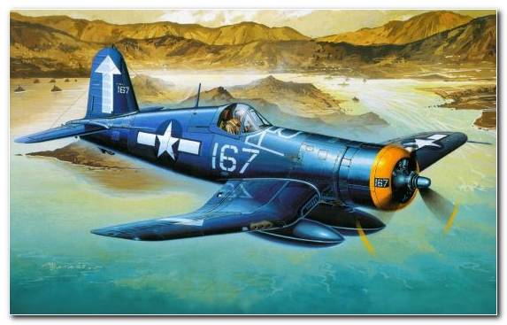 Image Military Aircraft Airplane Aircraft Vought Vought F4u Corsair