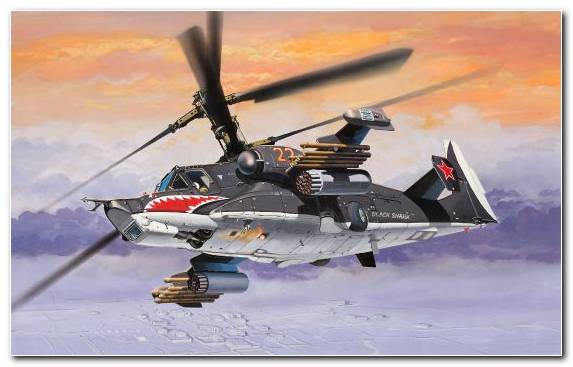 Image Military Aircraft Fighter Kamov Military Helicopter Attack Helicopter