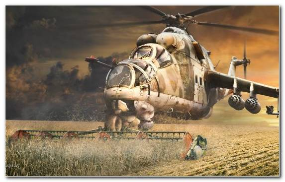 Image Military Attack Helicopter Sky Russia Military Helicopter
