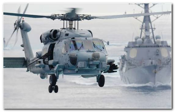 Image Military Helicopter Carrier Strike Group Helicopter Rotor Uss Chung Hoon Aviation