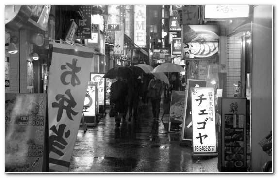 Image Monochrome Mode Urban Area Capital City London Tokyo