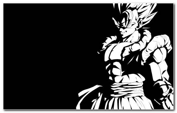 Image Monochrome Saiyan Super Saiyan Dragon Ball Illustration