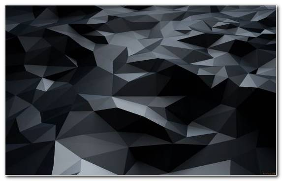 Image Monochrome Triangle Design Black And White Pattern