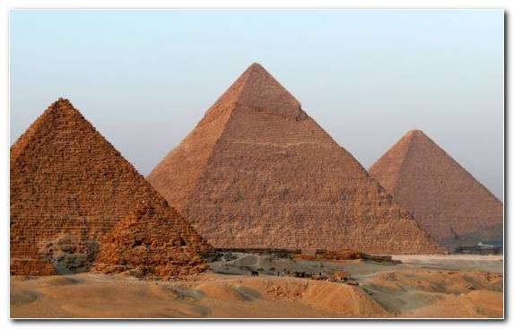 Image Monument Historic Site Landscape Archaeological Site Great Sphinx Of Giza