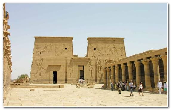 Image Mortuary Temple Ancient Greek Temple Egyptian Temple Archaeological Site Classical Architecture