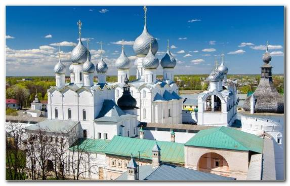 Image Moscow Kremlin Building Rostov Tourist Attraction Tourism