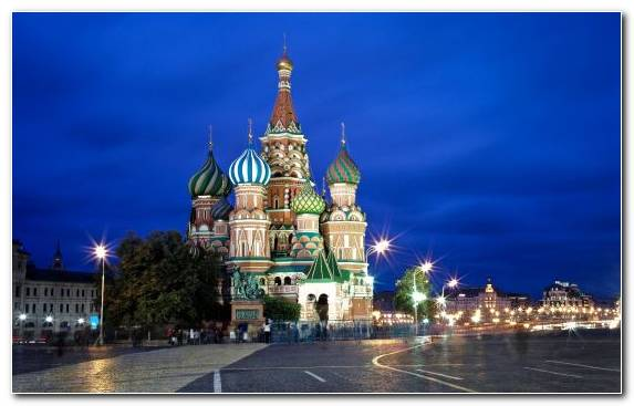 Image Moscow Kremlin Las Vegas Metropolis Tower Night