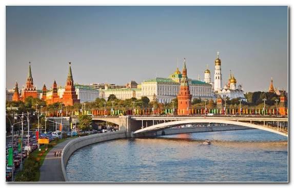 Image Moscow Kremlin Tourism Cityscape Waterway Landmark