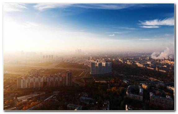 Image Moscow Landmark City Urban Area Cloud