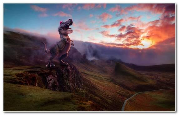 Image Mountain Dinosaur Hill Landscape