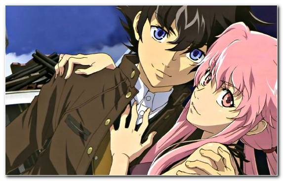Image Mouth Yuno Gasai Fiction Future Diary Fictional Character