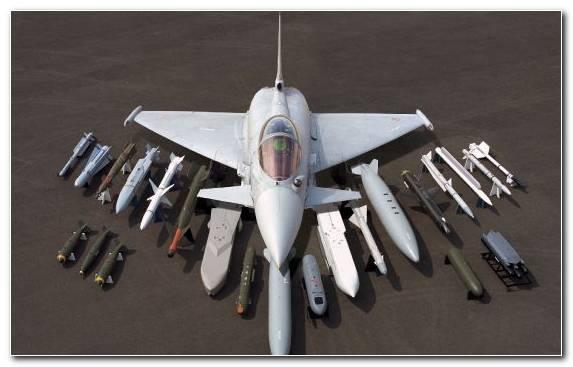Image Multirole Combat Aircraft Fighter Eurofighter Typhoon Dassault Rafale Twinjet