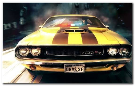 Image Muscle Car Full Size Car Driver San Francisco Automotive Exterior Hood