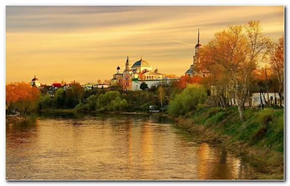 Image Nature Reflection River Bank Waterway