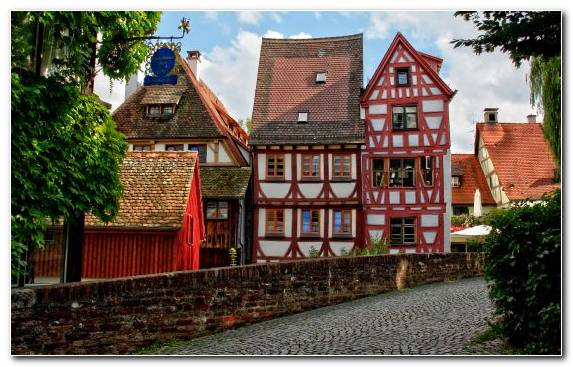Image Neighbourhood City House Home Medieval Architecture