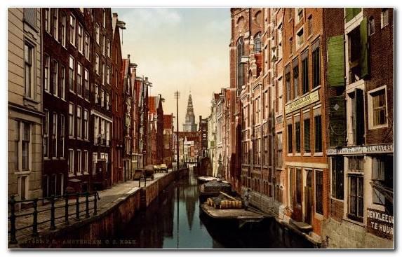 Image Neighbourhood City Poster Town Waterway