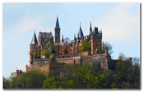 Image Neuschwanstein Castle Steeple Hohenzollern Castle Windsor Castle Tours