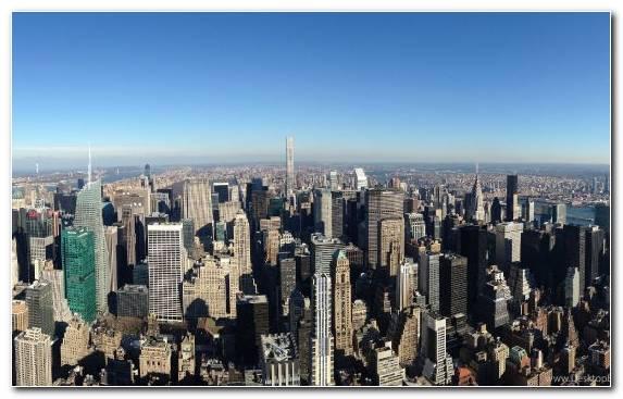 Image New York City Daytime Cityscape Urban Area Horizon