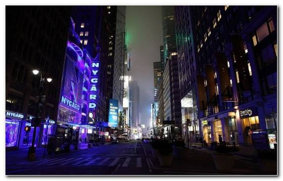 Image night broadway urban area manhattan metropolis