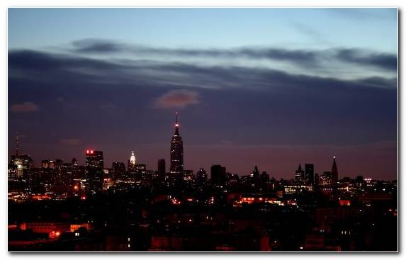 Image Night Cloud Night Sky Skyline Urban Area